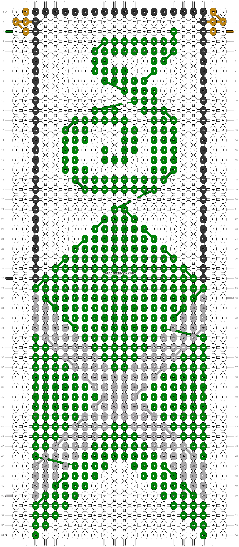 Alpha pattern #31107 pattern