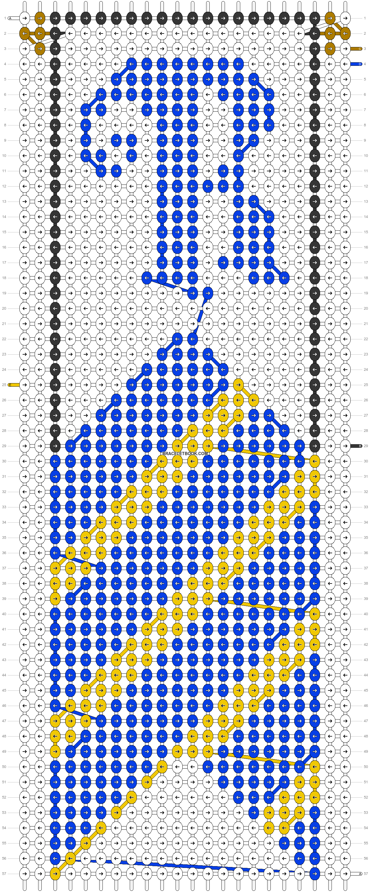 Alpha pattern #31108 pattern