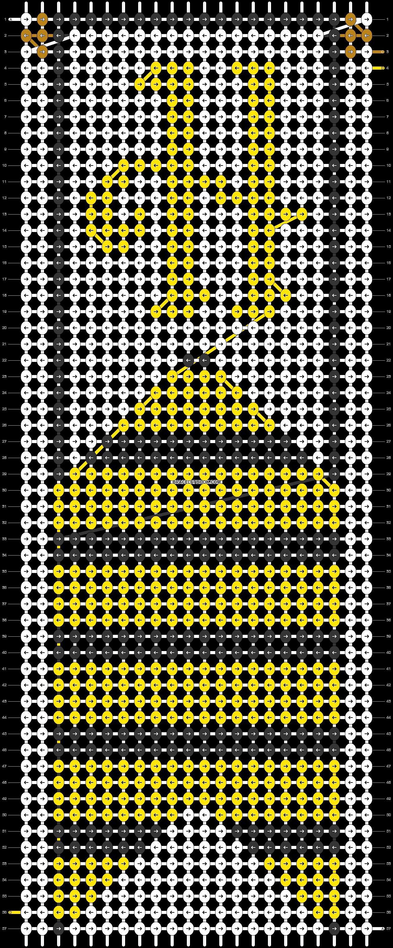 Alpha pattern #31109 pattern