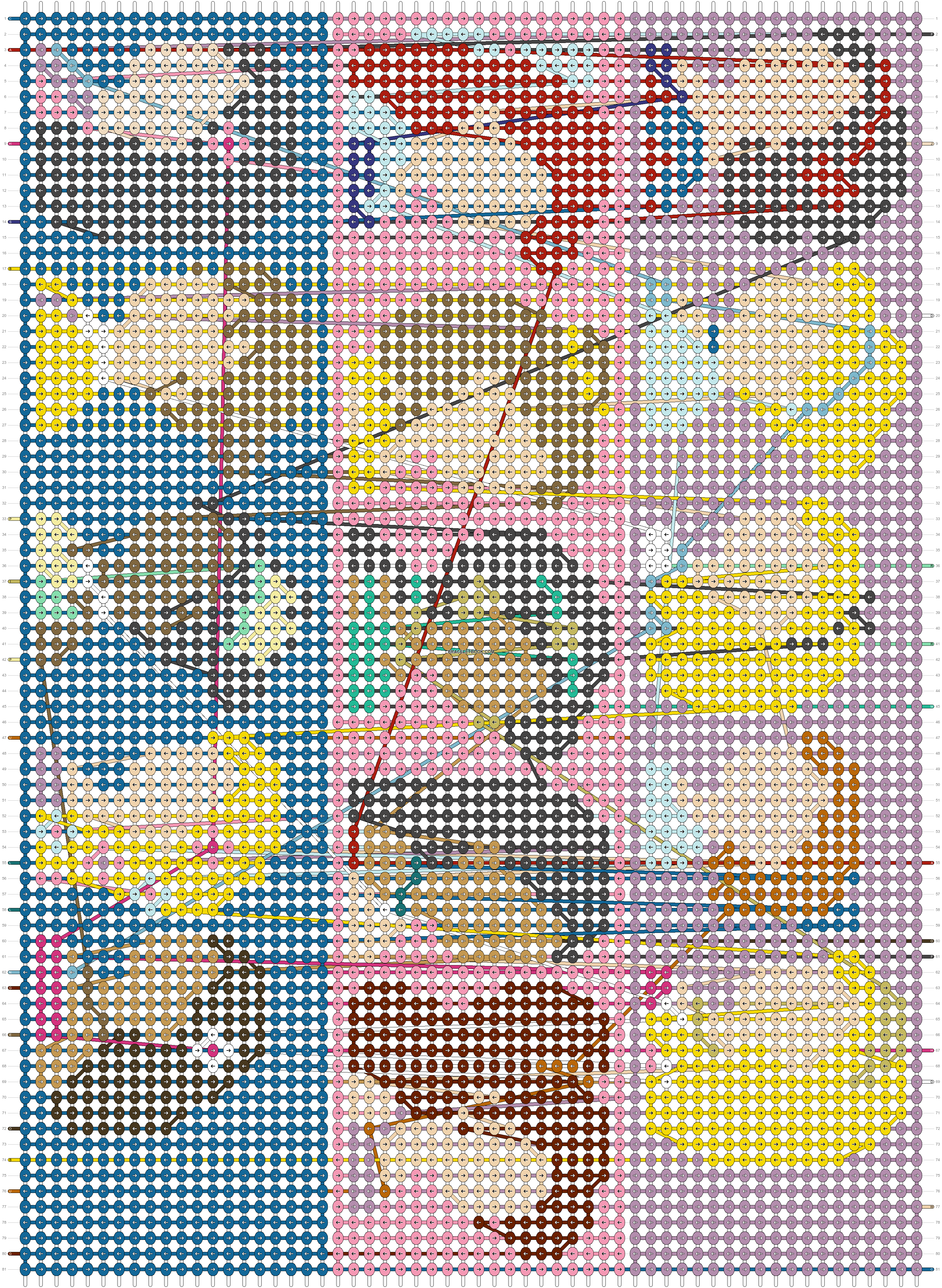 Alpha pattern #31113 pattern