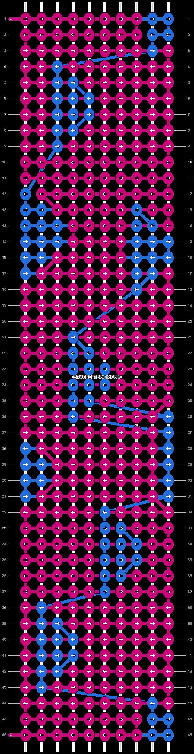 Alpha pattern #31115 pattern