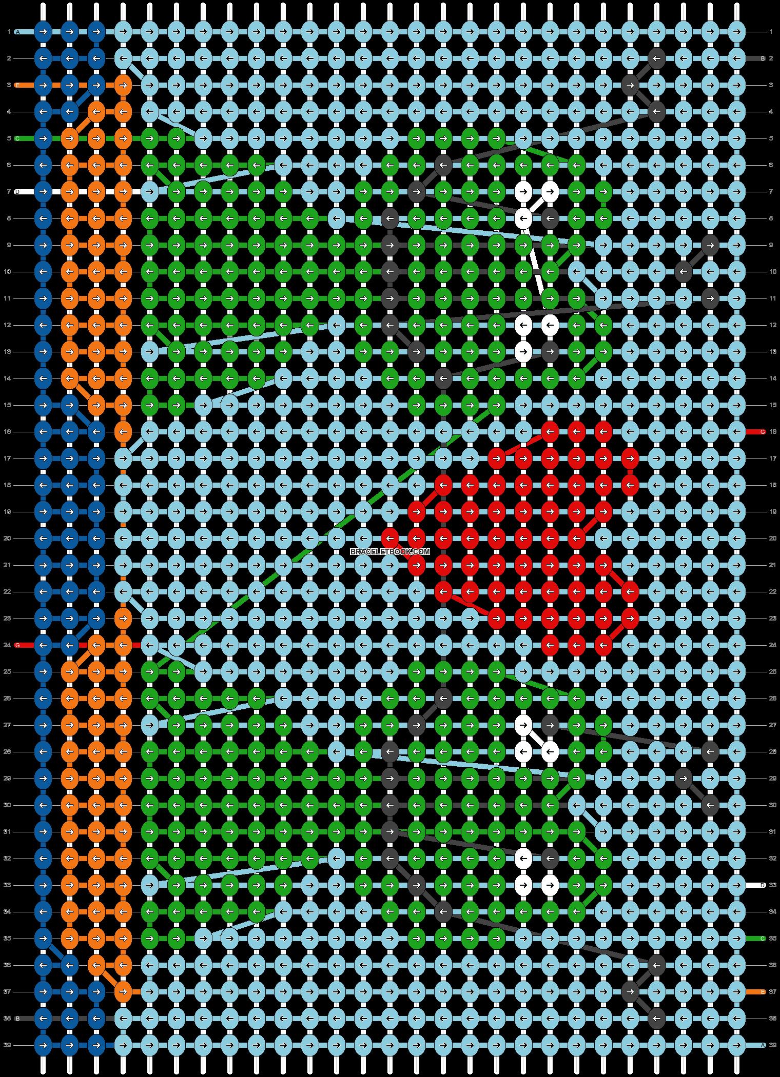 Alpha pattern #31119 pattern