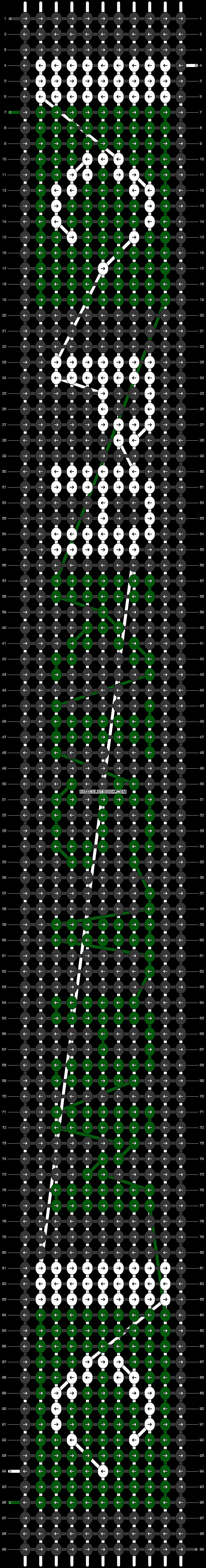 Alpha pattern #31142 pattern