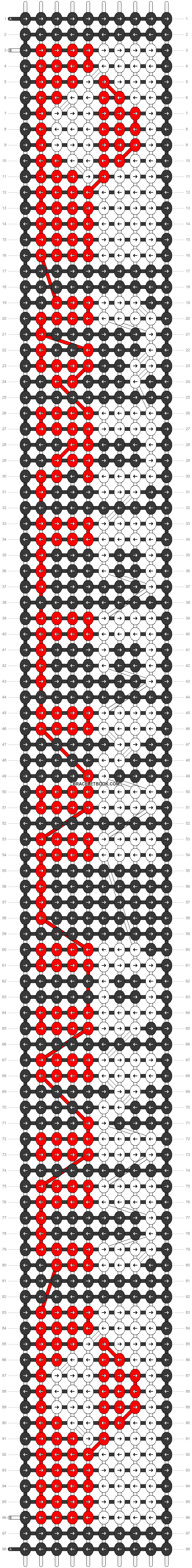 Alpha pattern #31145 pattern
