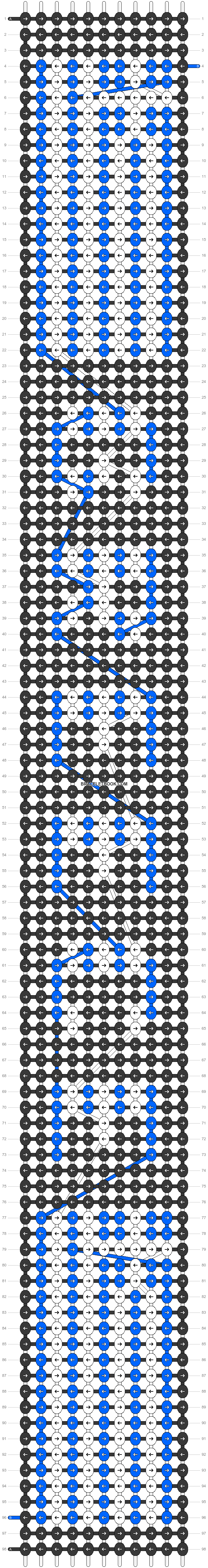 Alpha pattern #31153 pattern