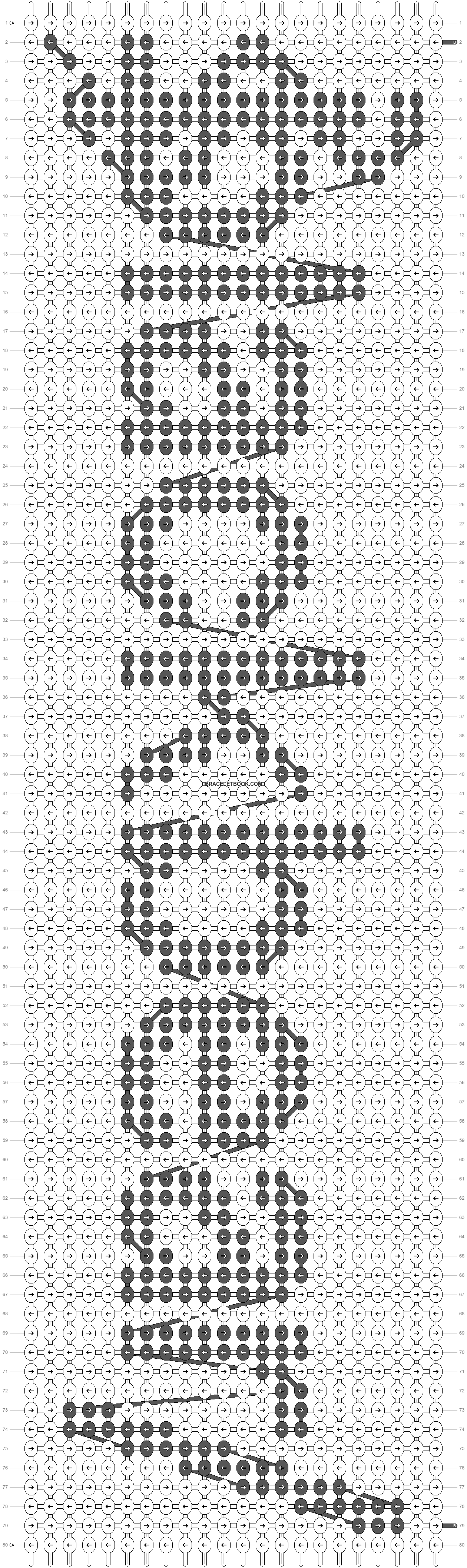Alpha pattern #31166 pattern