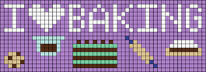 Alpha pattern #31167