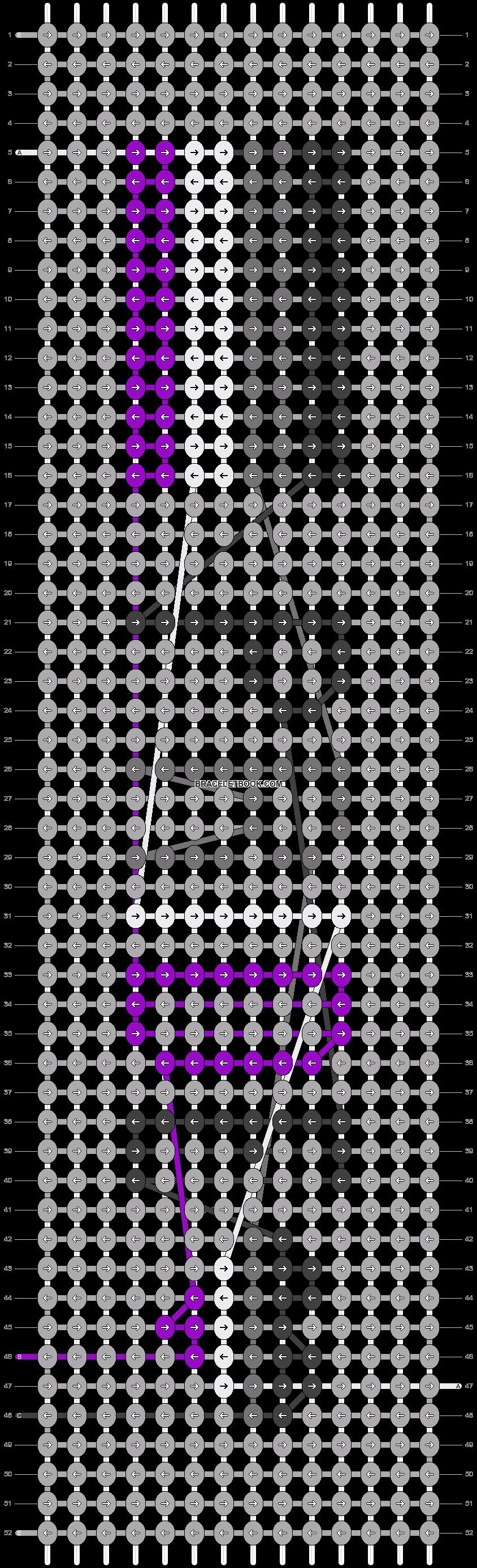 Alpha pattern #31172 pattern