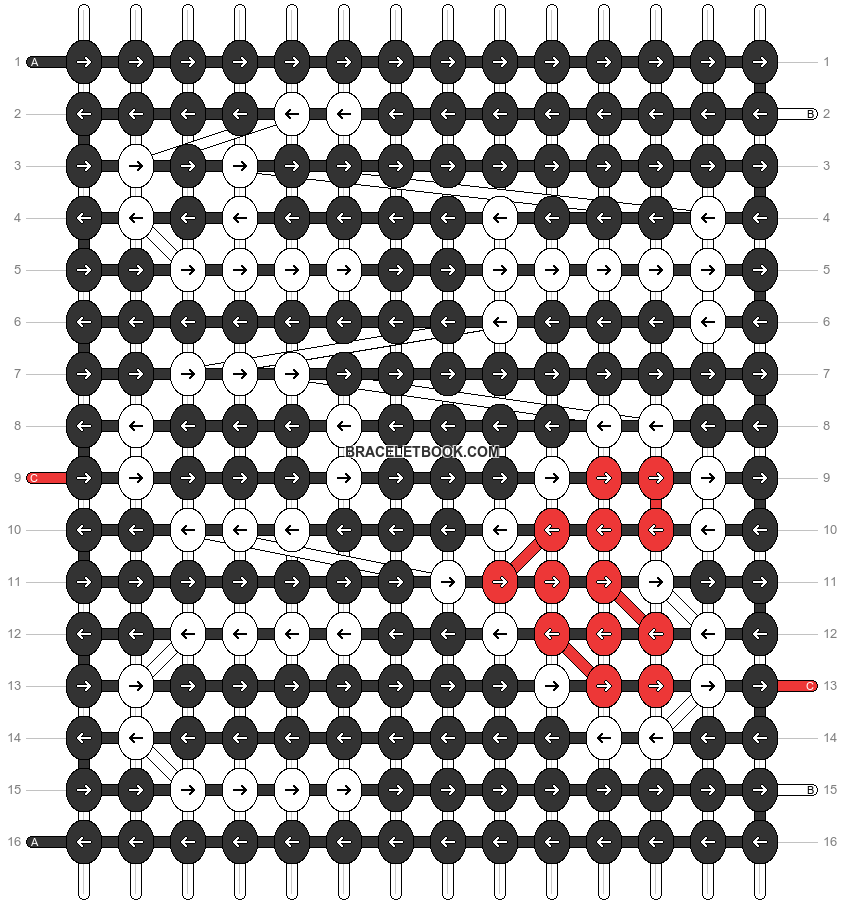 Alpha pattern #31177 pattern