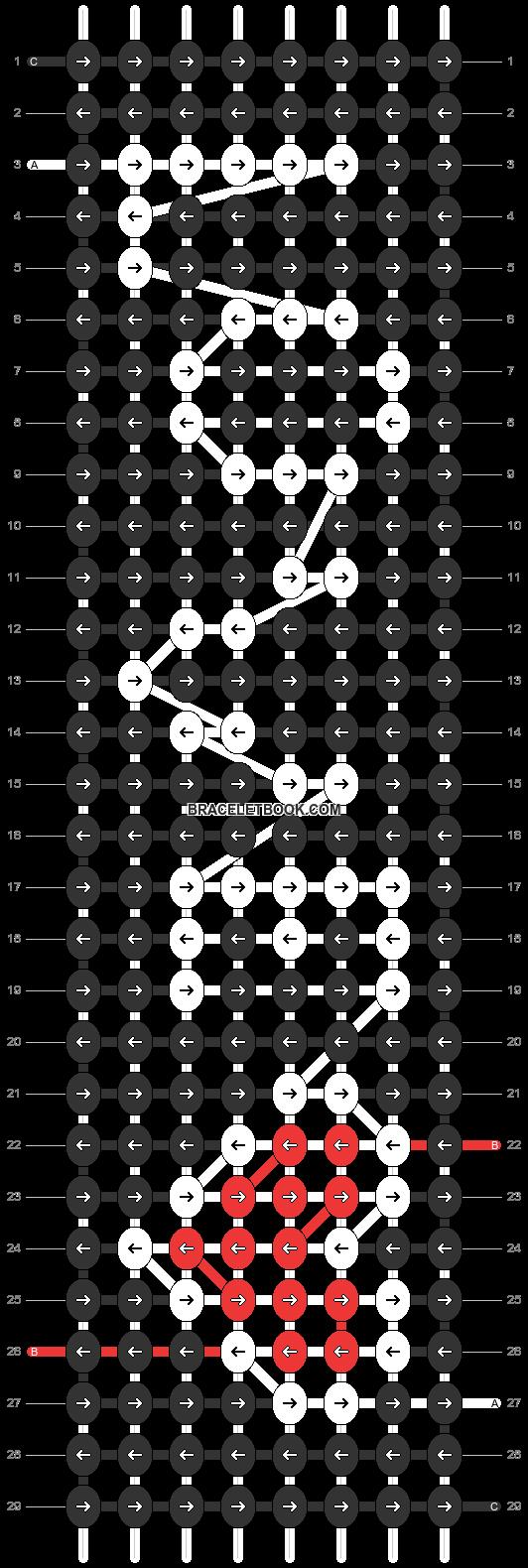 Alpha pattern #31178 pattern
