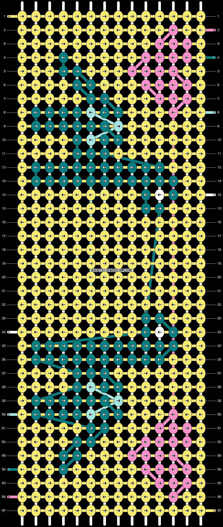 Alpha pattern #31182 pattern