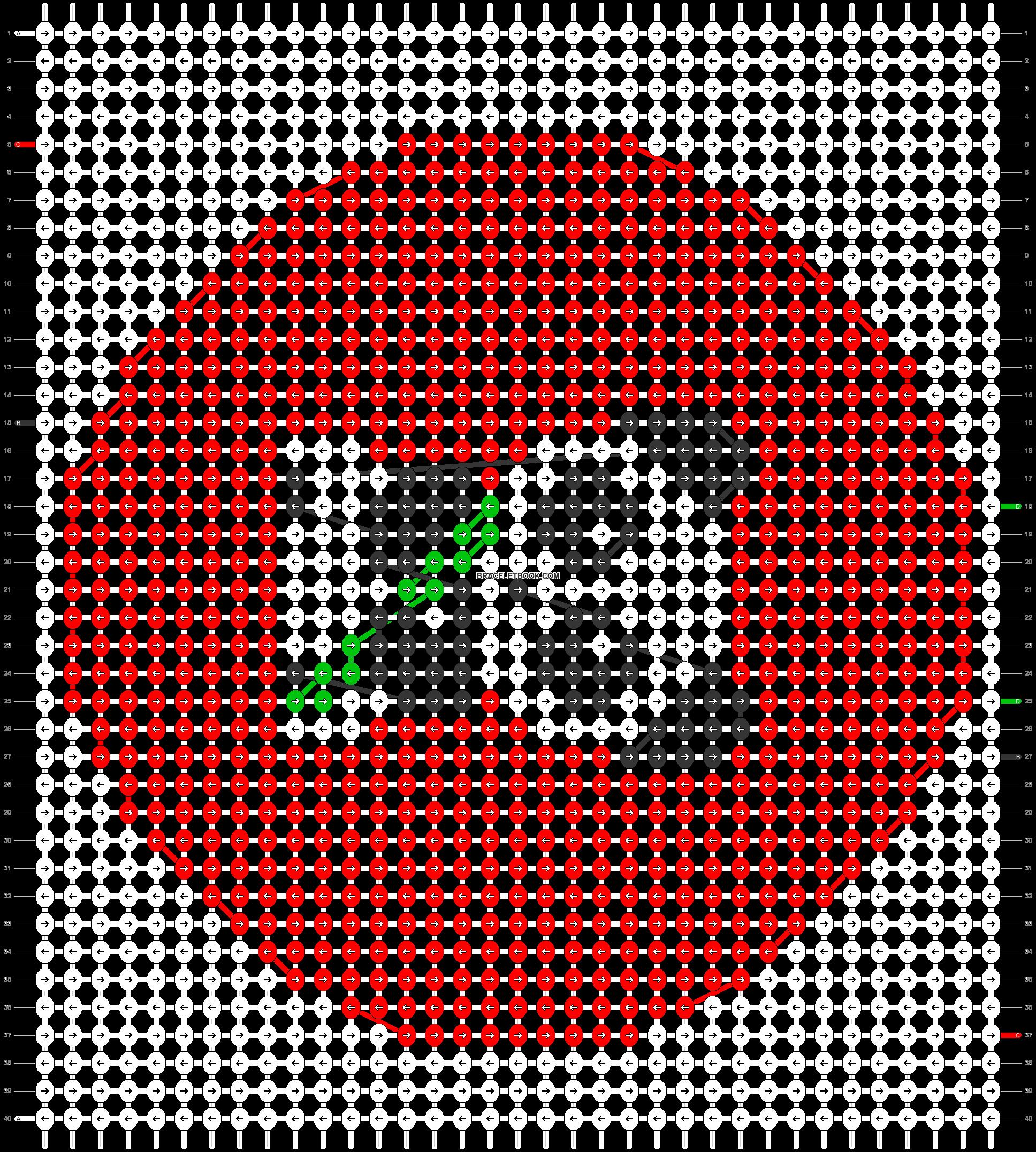 Alpha pattern #31185 pattern