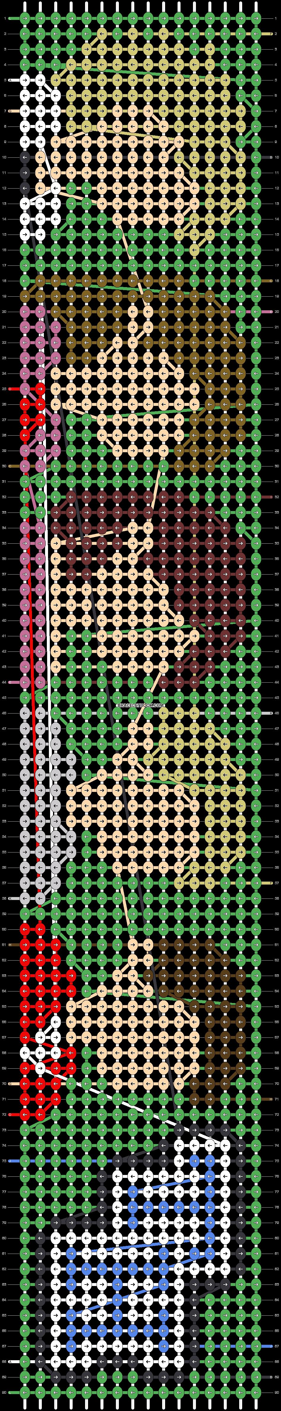 Alpha pattern #31186 pattern