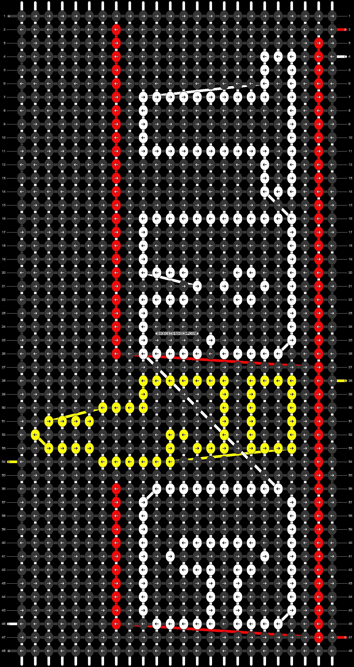 Alpha pattern #31187 pattern