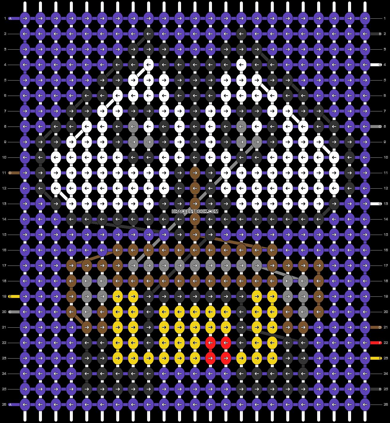 Alpha pattern #31197 pattern