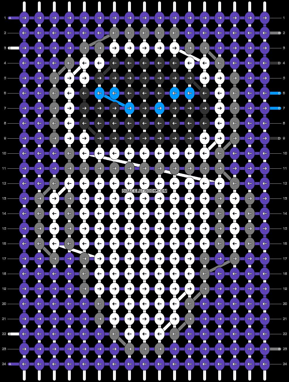 Alpha pattern #31198 pattern