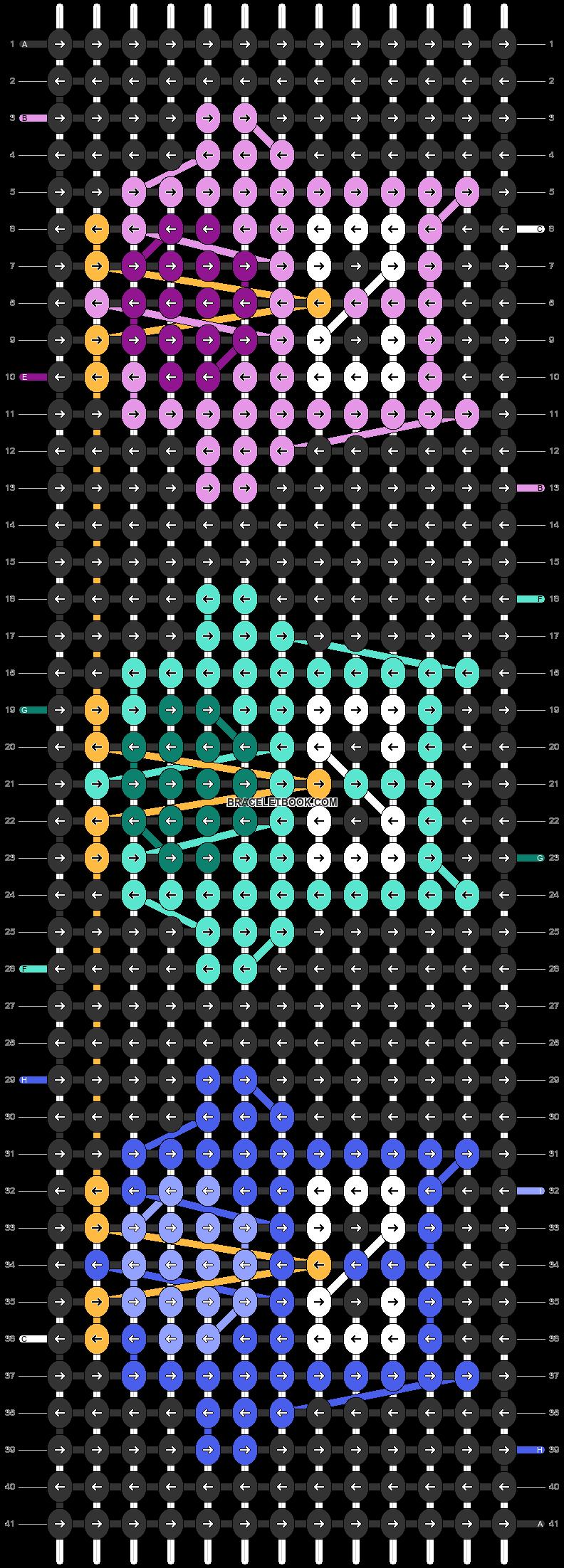 Alpha pattern #31201 pattern