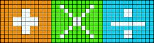 Alpha pattern #31215