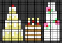 Alpha pattern #31225