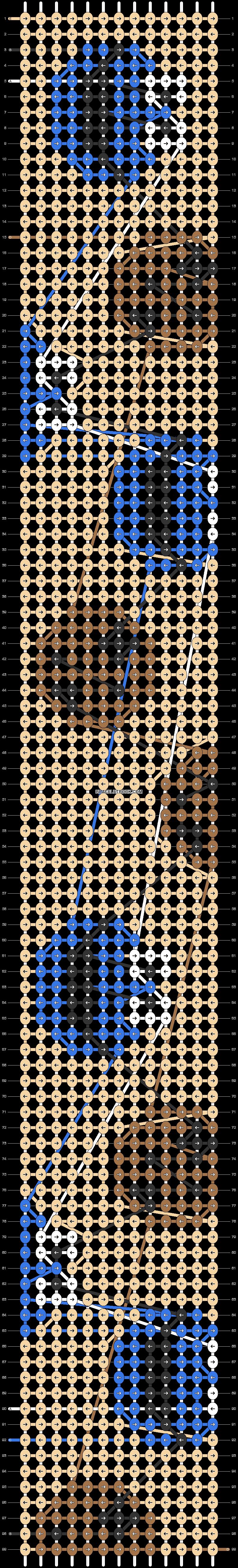 Alpha pattern #31235 pattern