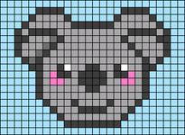 Alpha pattern #31237