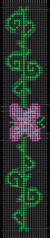 Alpha pattern #31268 pattern