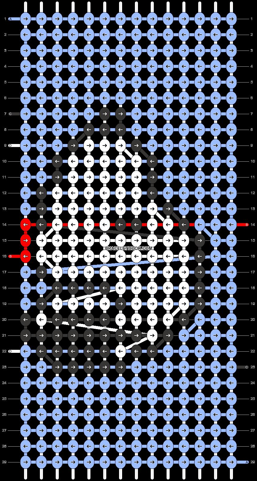 Alpha pattern #31285 pattern
