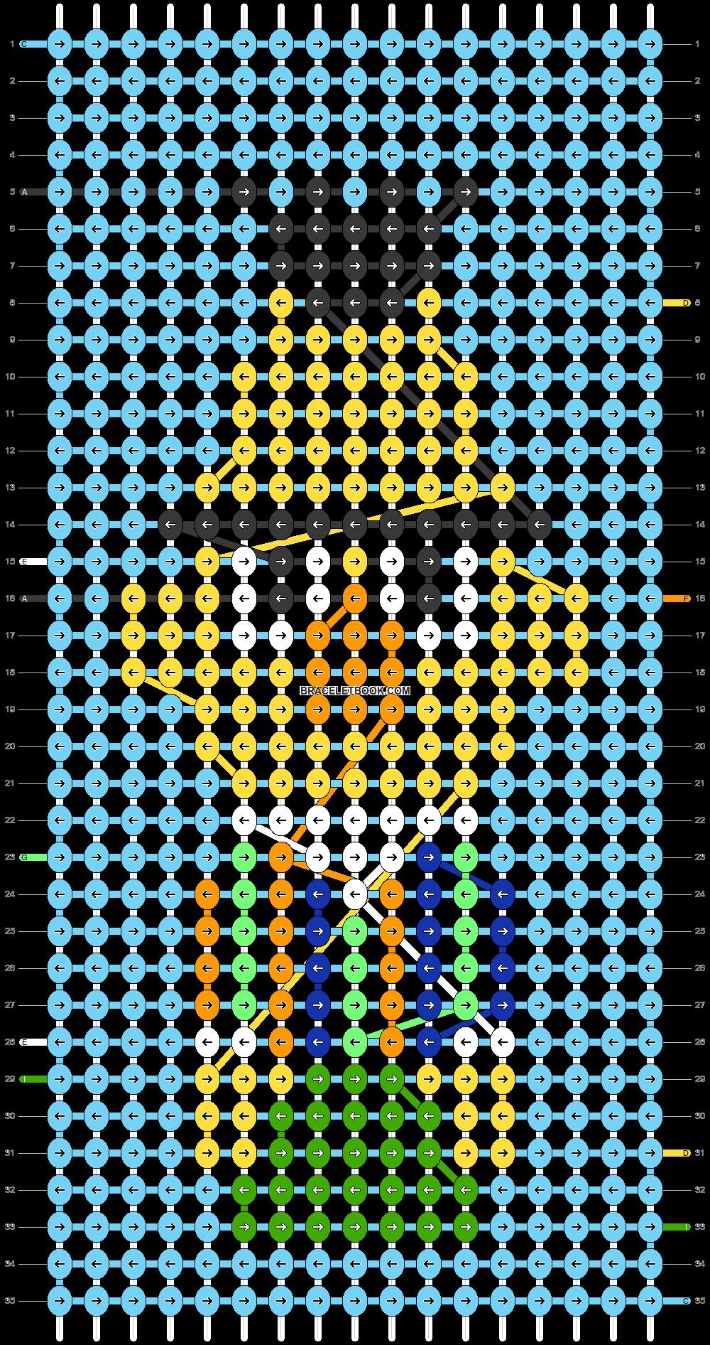 Alpha pattern #31289 pattern