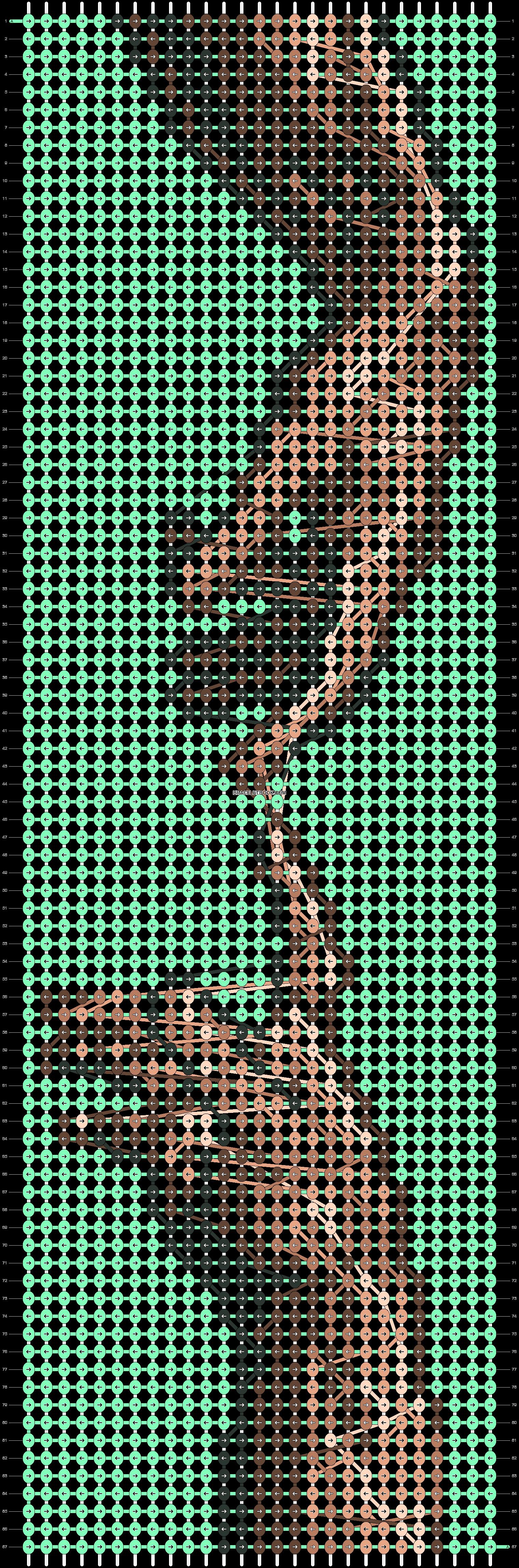 Alpha pattern #31310 pattern