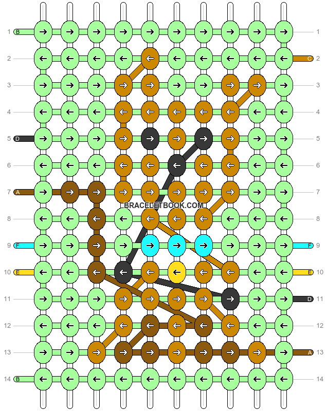 Alpha pattern #31313 pattern