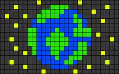 Alpha pattern #31317