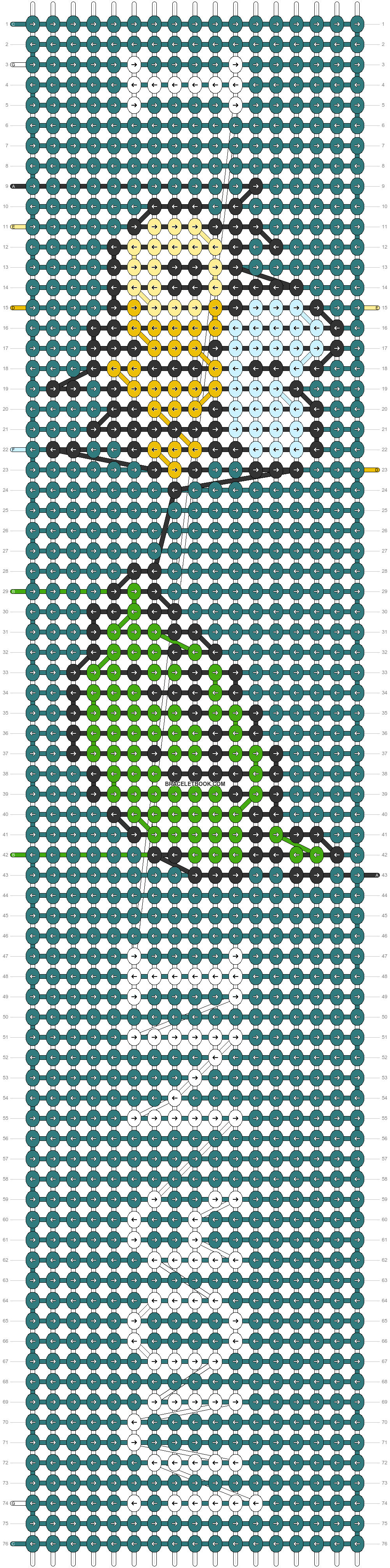 Alpha pattern #31319 pattern