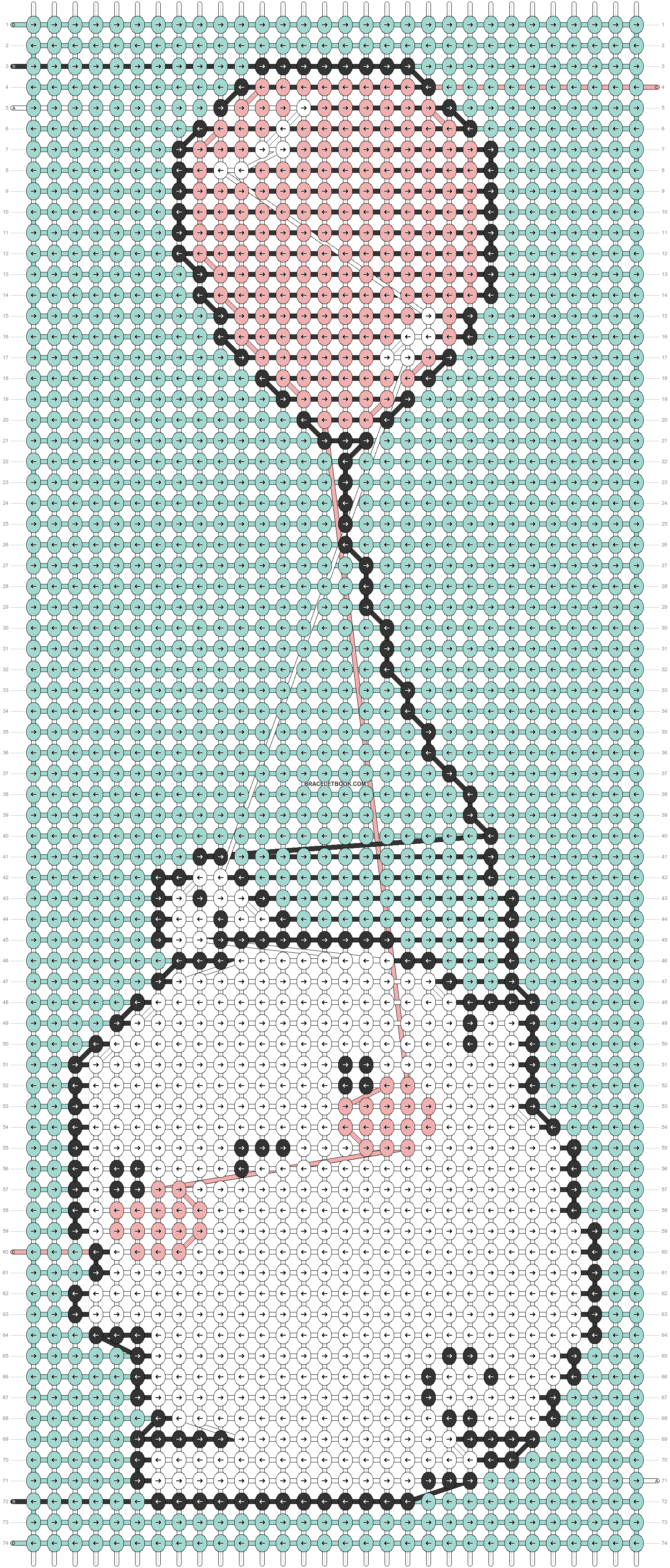 Alpha pattern #31330 pattern
