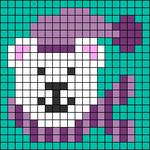 Alpha pattern #31384