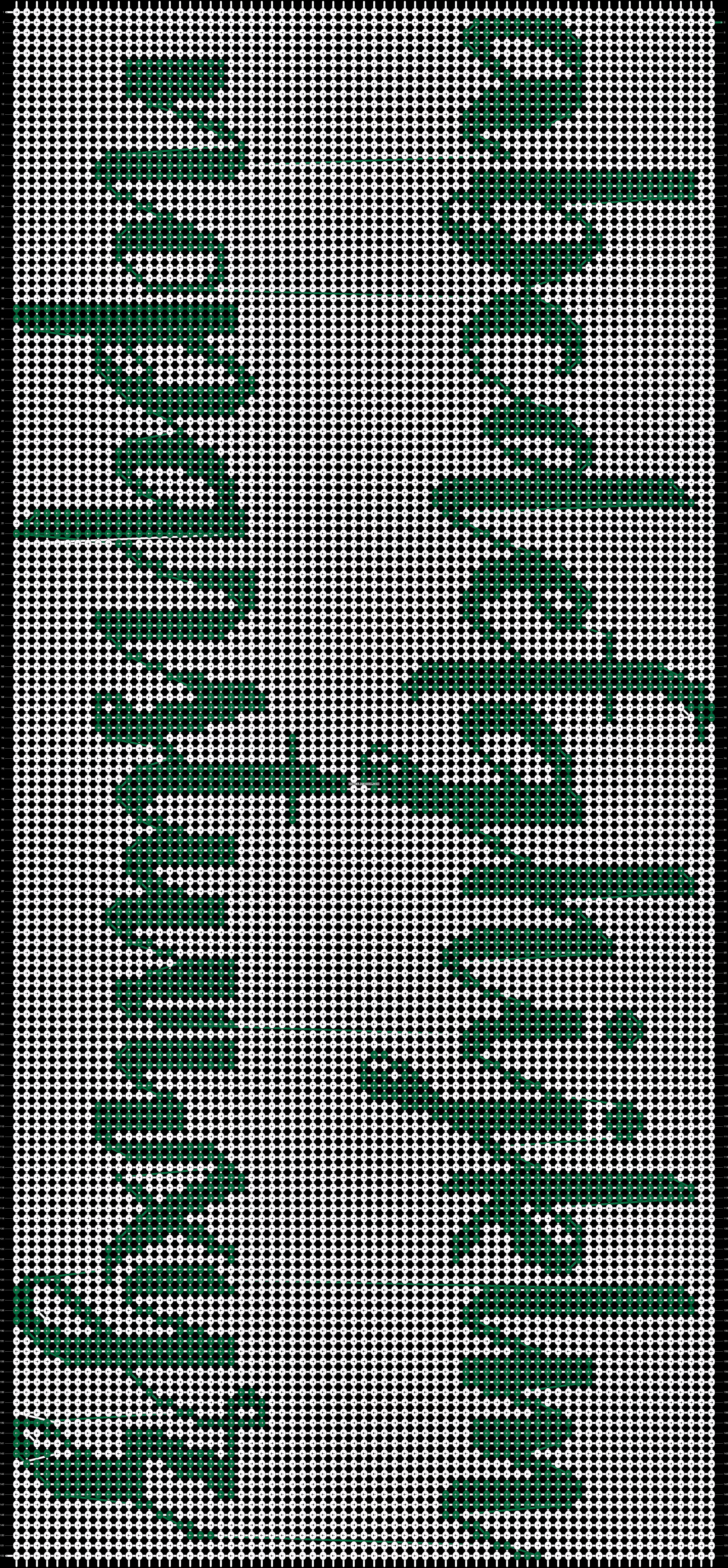 Alpha pattern #31393 pattern