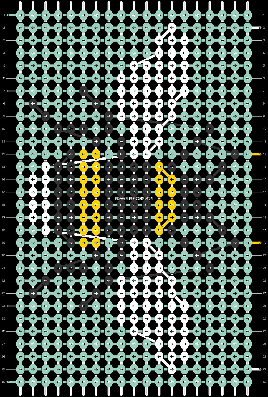 Alpha pattern #31396 pattern
