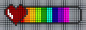 Alpha pattern #31418