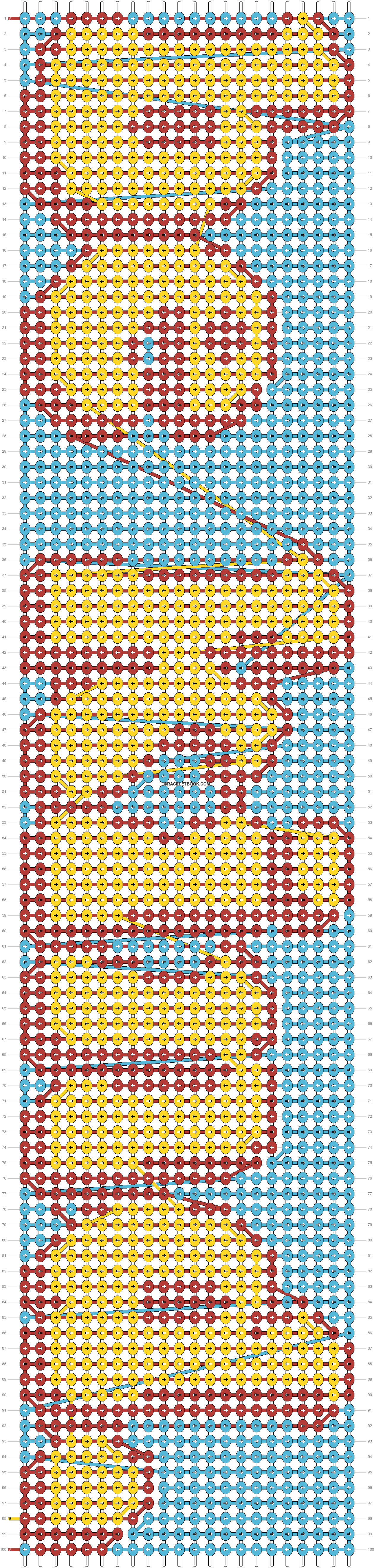 Alpha pattern #31422 pattern