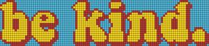 Alpha pattern #31422