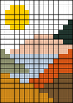 Alpha pattern #31520