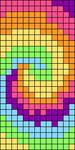 Alpha pattern #31521