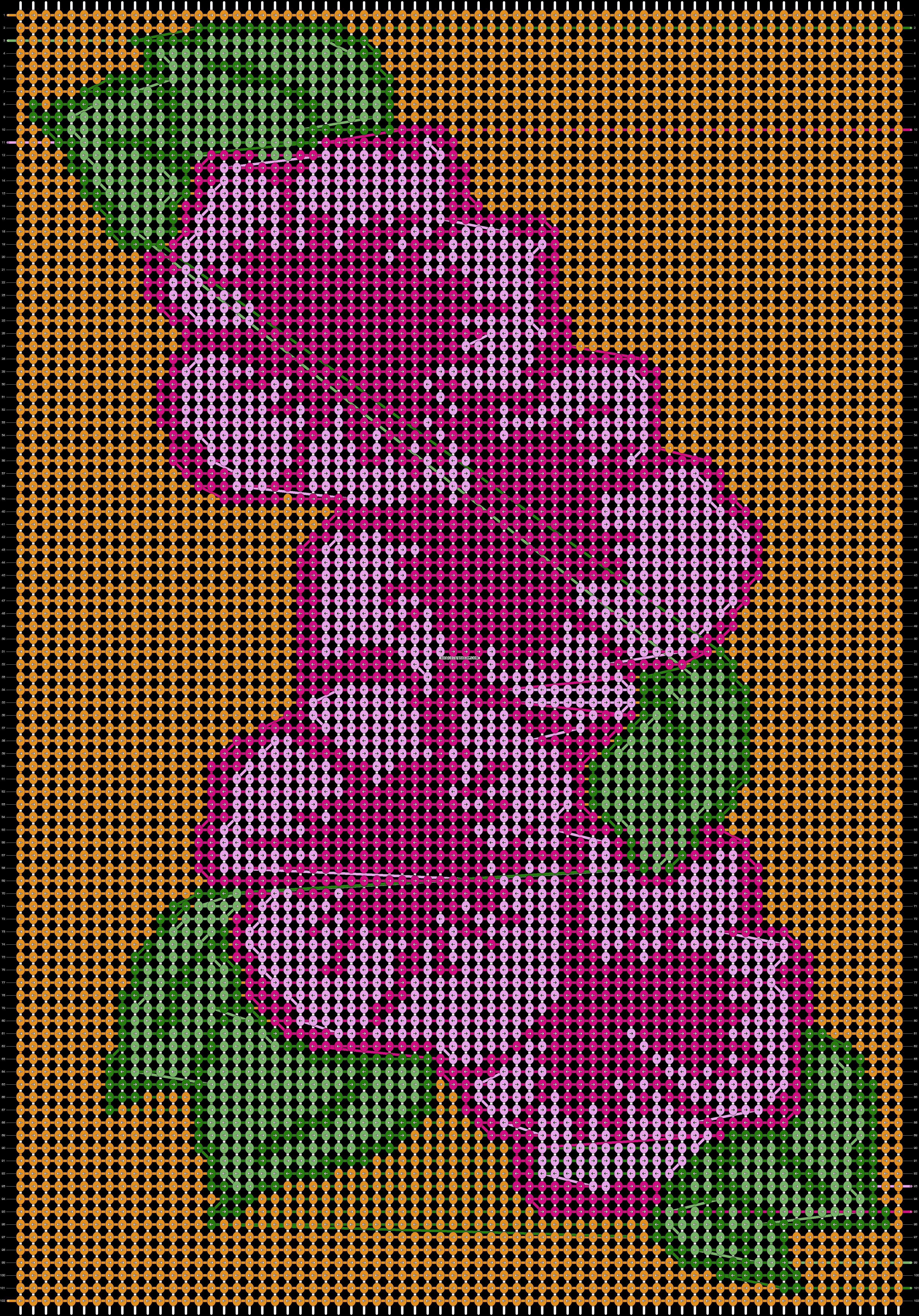 Alpha pattern #31544 pattern