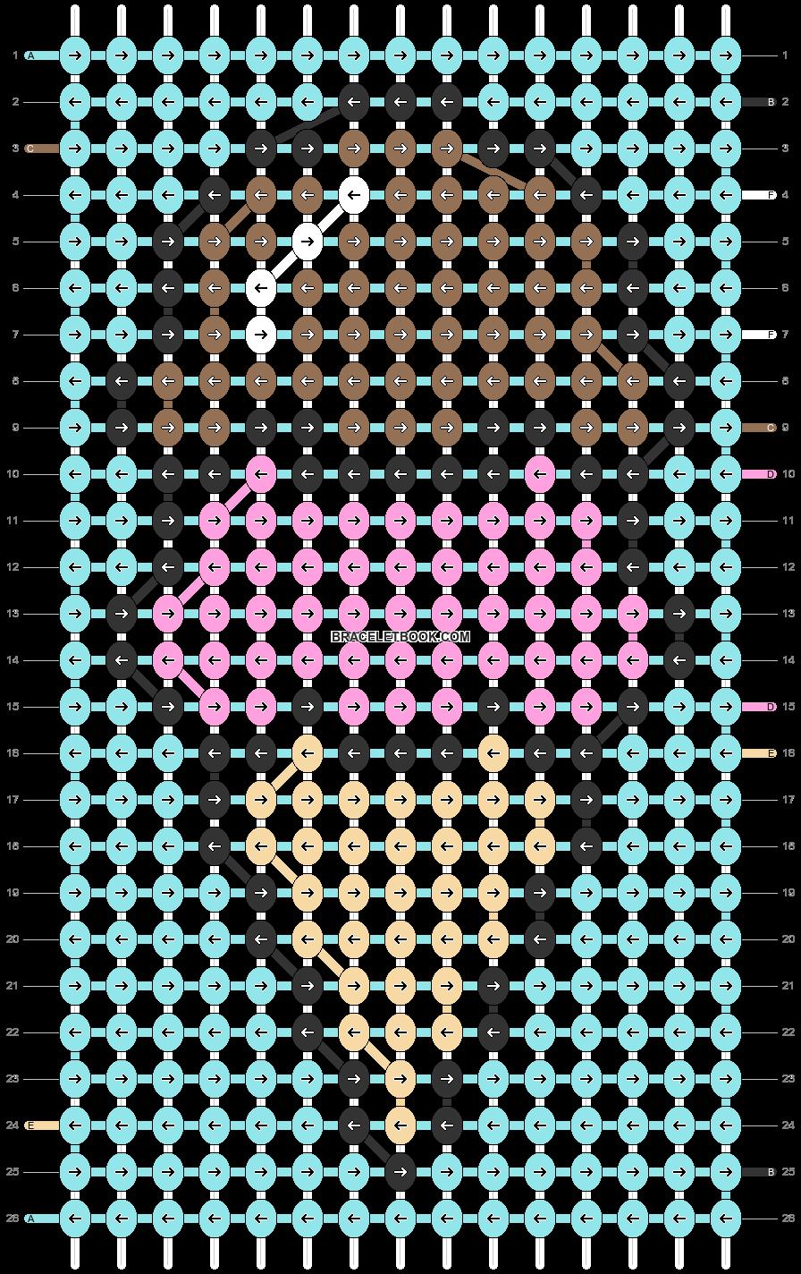 Alpha pattern #31550 pattern