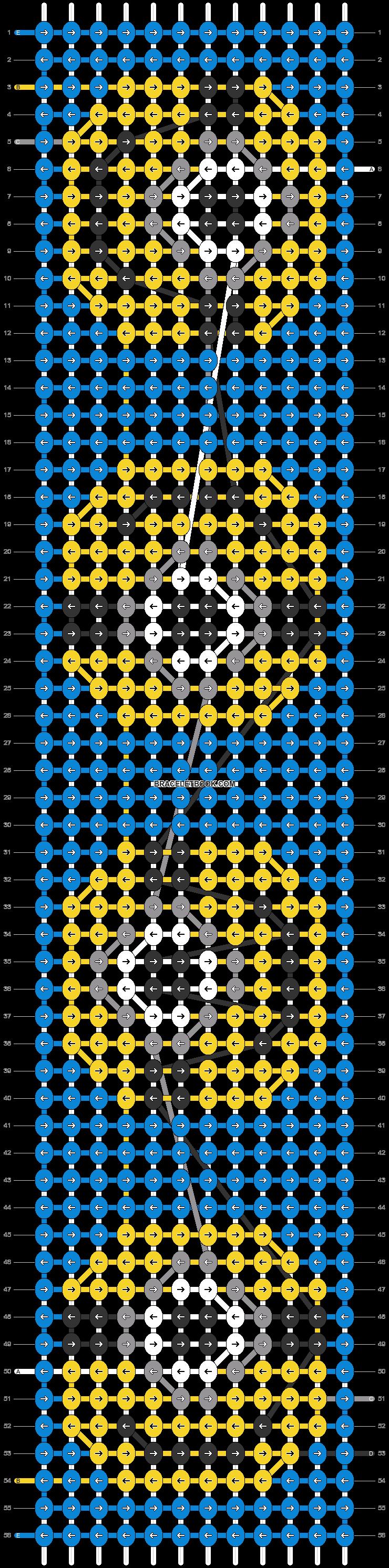 Alpha pattern #31551 pattern
