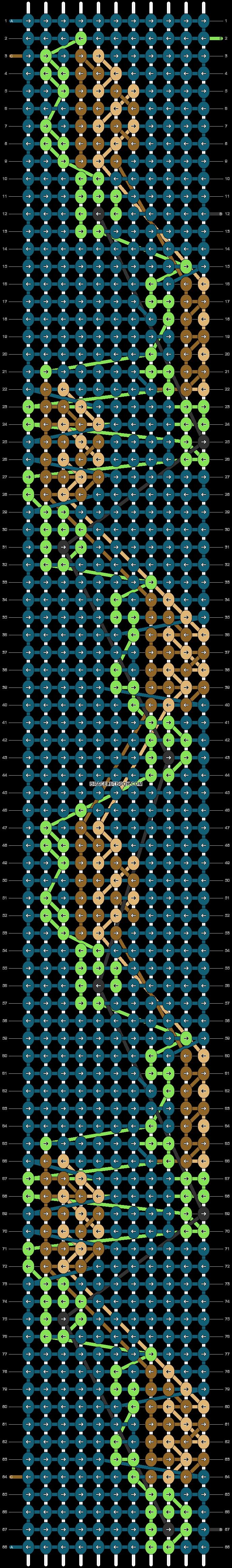 Alpha pattern #31553 pattern
