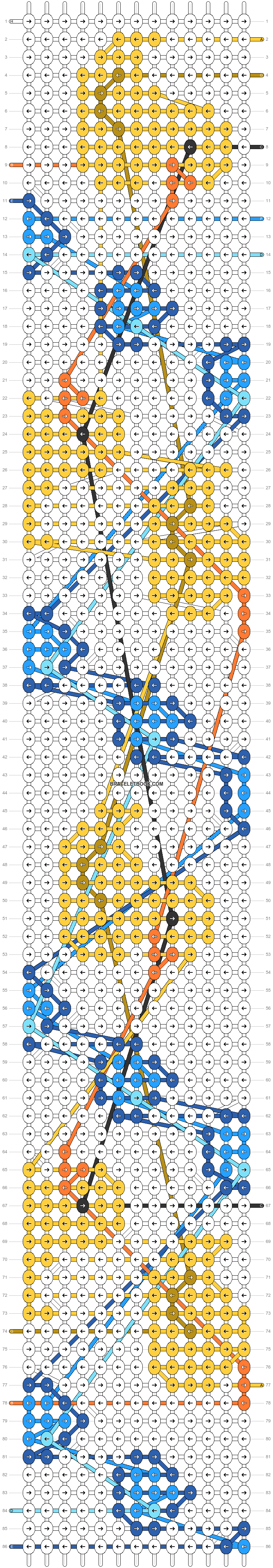 Alpha pattern #31554 pattern