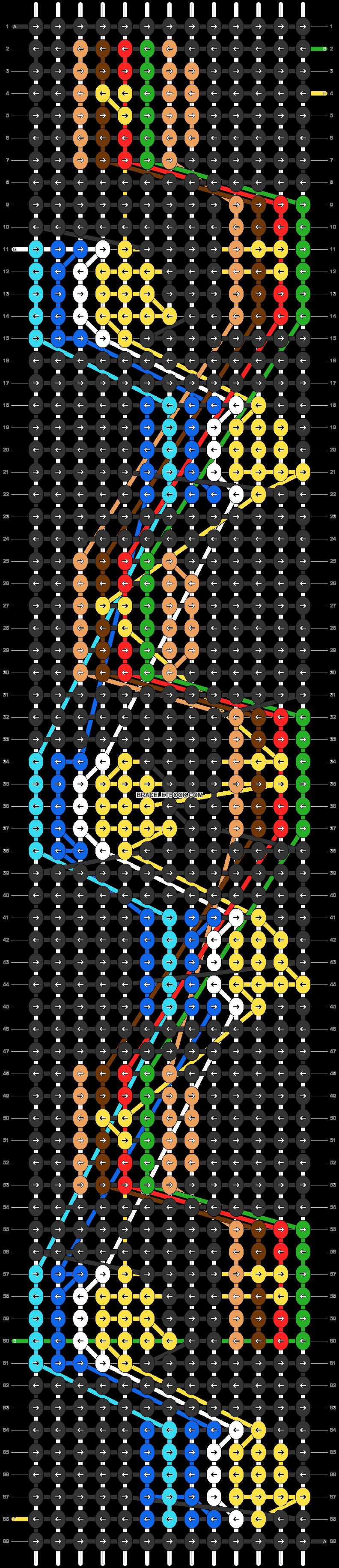 Alpha pattern #31556 pattern