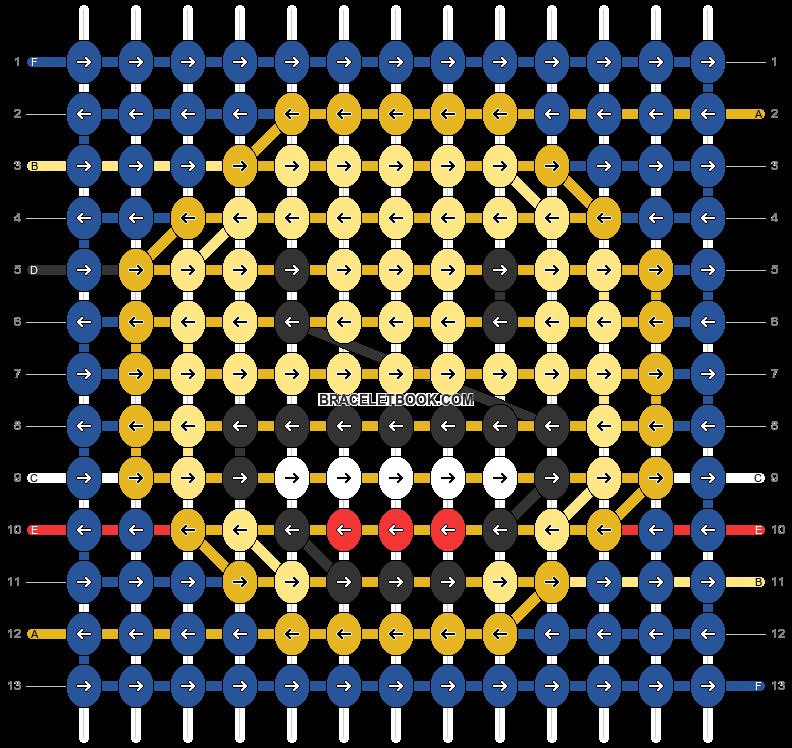 Alpha pattern #31568 pattern