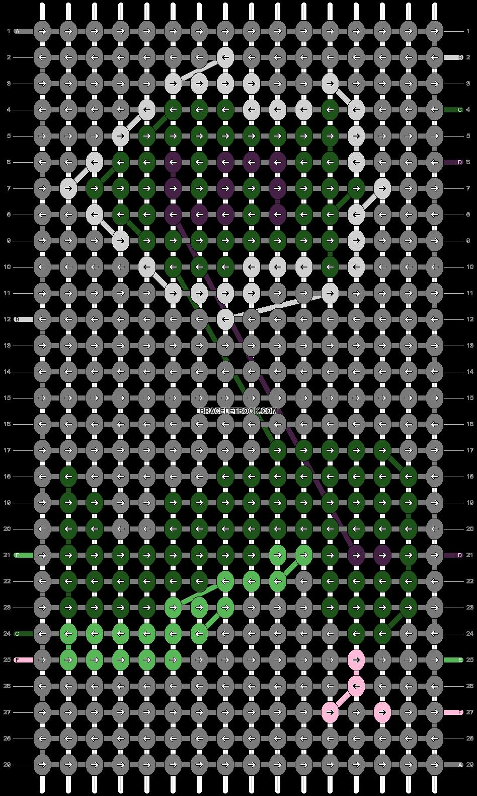 Alpha pattern #31581 pattern