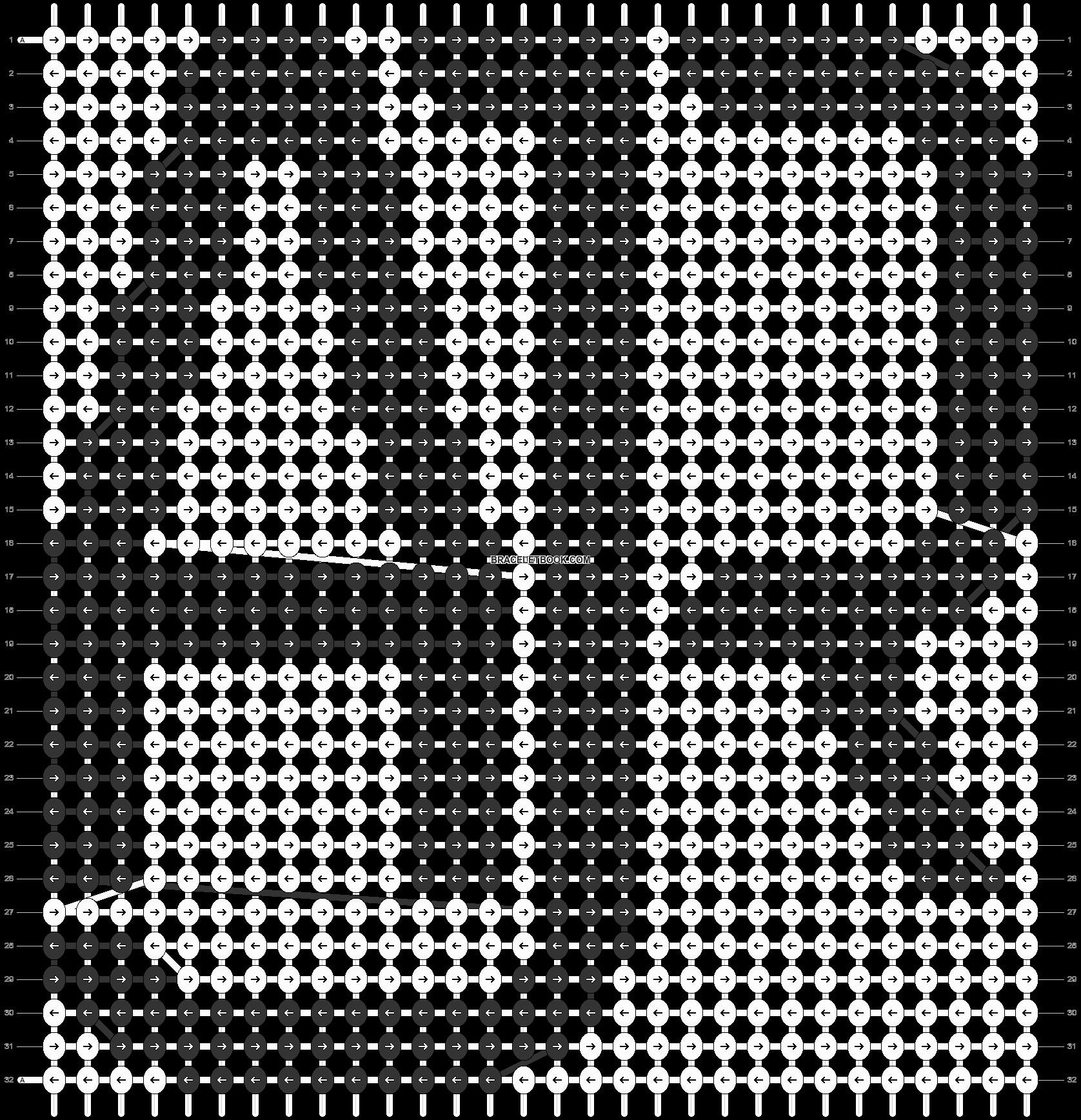 Alpha pattern #31592 pattern